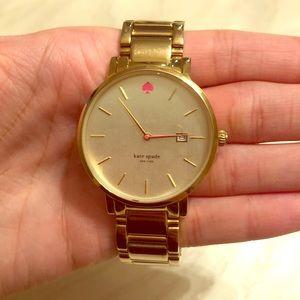 Gold Kate spade watch!